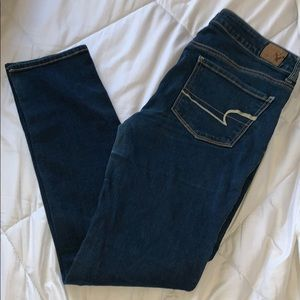 Dark Wash American Eagle Jeans